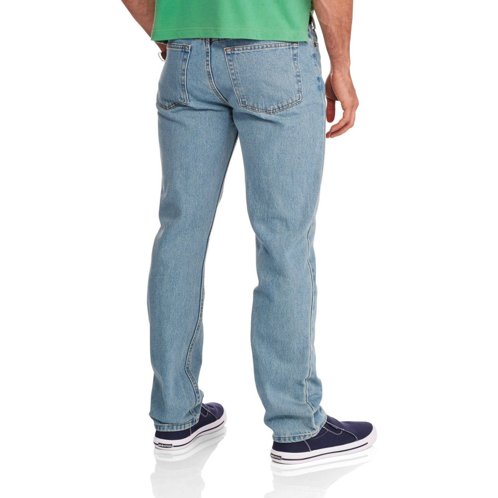 Regular 6 Regular, Black Faded Glory Boys Relaxed Fit Denim Blue Jeans