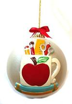 Kurt Adler Teacher Ball Ornament 3.5 inches - $14.85