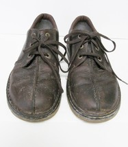 Dr. Doc Martens RIPLEY Distressed Brown Leather Lace Up Shoes -Sz 12M - $37.95