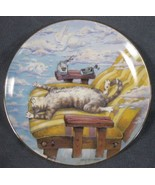 Cat Day Afternoon Collector Plate Gary Patterson Comical Cats Danbury Mint - $21.95