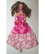 Vintage 1983 Barbie Doll SWEET ROSE PJ wearing dress gown Steffie face - $39.99