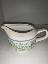 Temperware Lenox Fancy Free Creamer Butterfly 10 ounce Sauce or Syrup Server - $9.49
