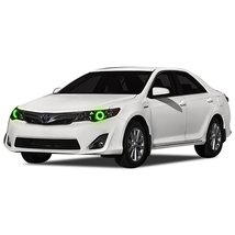 FLASHTECH for Toyota Camry 12-14 Green Single Color LED Halo Ring Headli... - $136.22