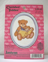 Janlynn Cherished Teddies Reading Bears Cross Stitch Kit #139-65 - NEW w... - $6.60