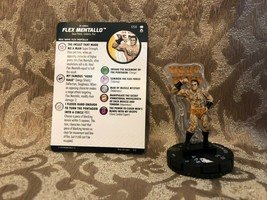 Heroclix DC Rebirth Super Rare 058 Flex Metallo New with Card - $5.59