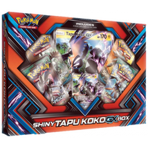 Shiny Tapu Koko GX Collection Box Pokemon TCG Cards Sealed Booster Packs - $25.99