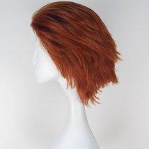 Miss U Hair Men Short Straight Hair Synthetic Auburn Color Halloween Cosplay Wig image 5