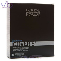 L'OREAL Professionnel Homme Cover 5, Amonia-Free Grey Hair Blending Gel ... - $24.00