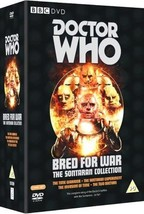 Doctor Who Bred for War Sontaran Collection Tom Baker Jon Pertwee DVD *R... - $36.95