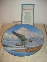 1988 Hamilton Collection Coastal Journey Falcon Plate w/ COA and Box - $19.99