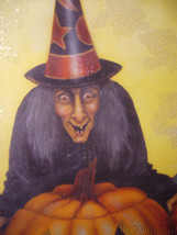 Bethany Lowe Midnight Witch with Pumpkin no. BB9354 image 2