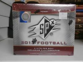 2013 SPx Factory Sealed Unopened Hobby Football Box - $132.51