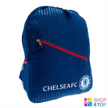 CHELSEA FC BLUE BACKPACK TRAVEL BAG FOOTBALL SOCCER CLUB TEAM OFFICIAL L... - ₹1,689.02 INR