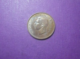 NZL1/2  - NEW ZEALAND - 1/2 PENNY - 1941 - $24.75