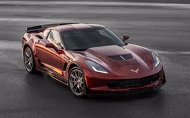 2016 Chevrolet Corvette z06 spice red 24X36 inch poster, sports car - $18.99
