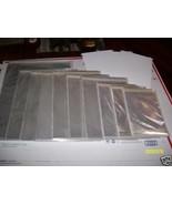 100 Pcs 7 11/16 x 10 1/2 Inch Acid Free Clear Archival Storage Display E... - $44.54