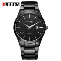 relogio masculino CURREN Luxury Brand Analog sports Wristwatch Display Date Men' - $33.38