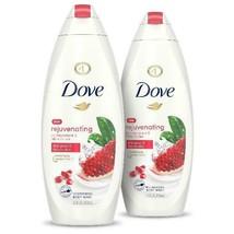 Dove Rejuvenating Body Wash Pomegranate and Hibiscus Tea, 22 oz, 2 Count - $36.37