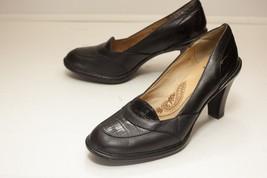 Sofft US 7.5 Black Pumps 3 Inch Heels - $42.00