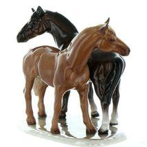 Hagen Renaker Specialty Horse Best Friends Grooming Ceramic Figurine image 5