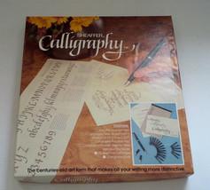 vintage Sheaffer calligaphy instruction booklet nibs and ink - $11.88