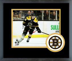 Jake DeBrusk 2017-18 Boston Bruins Playoffs -11x14 Team Logo Matted Fram... - $43.95