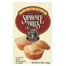 Shawnee Mills Yellow Corn Muffin Mix 6.5 Oz Pack of 6