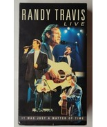 Randy Travis - Live: It Was Just a Matter of Time (VHS, 2001, Widescreen) - £12.16 GBP
