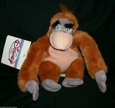 "8"" DISNEY STORE KING LOUIE JUNGLE BOOK MONKEY STUFFED ANIMAL PLUSH TOY B... - $8.60"