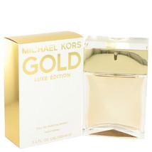 Michael Kors Gold Luxe Edition Eau De Parfum Spray 3.4 oz - $56.99