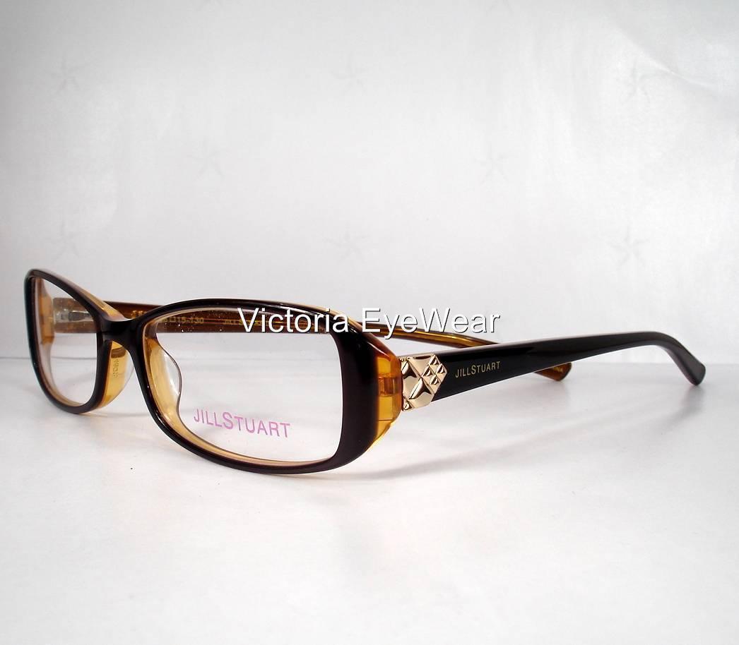 Jill Stuart 261 Brown Women Eyeglasses Frames and 50 similar items