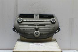 2008-2012 Honda Accord Radio CD Player Climate Control 77250TA0A Module 404 15G5 - $138.59