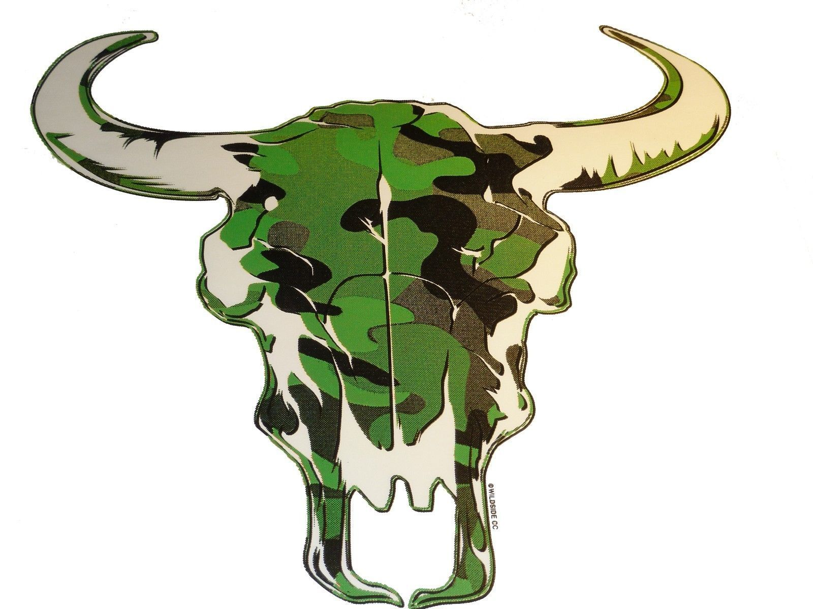 Primary image for Camo Cow Skull T-shirt