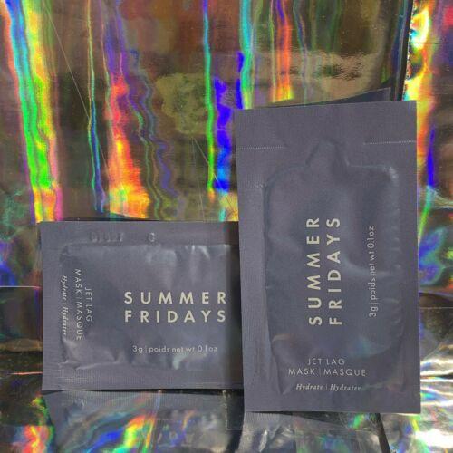 2 SUMMER FRIDAYS Multitask JET LAG MASK 3g Primer/Sleeping Mask