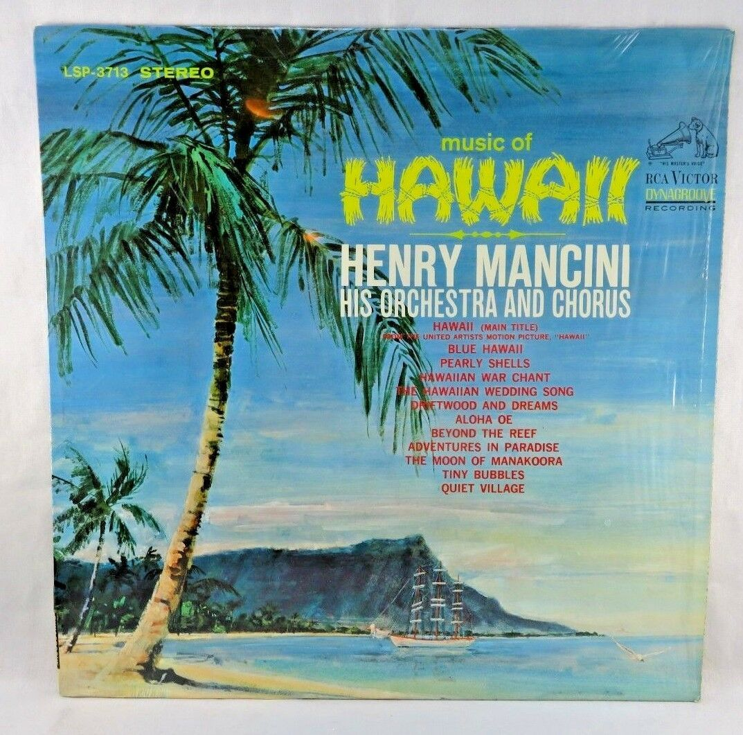 Primary image for Music Of Hawaii Henry Mancini And His Orchestra And Chorus Vinyl RCA Record