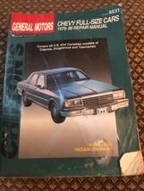 1979-1989 Chevrolet Full-Size Cars - Chilton Repair Manual #8531 - $5.49