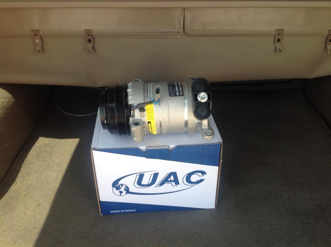 99-02 Chevy Chevrolet Silverado Pickup 4.8 5.3 AC Air Conditioning Compressor
