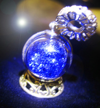 HAUNTED SNOW GLOBE NECKLACE HARNESSING HIGHEST SIGHT MAGICK MYSTICAL TRE... - $166.66
