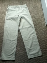 Boys-Size 18-Dickies pants - Khaki flat front uniform - $4.99