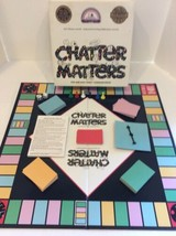 Chatter Matters Award Winning Board Game  - $8.00