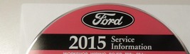2015 Ford Truck Econoline E Serie Van Service Shop Reparatur Manuell auf... - $277.14