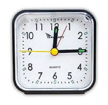 Travelwey Analog Clock, No Ticking, Alarm, Snooze, Light, Travel Lock, N... - $11.30