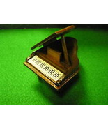 DOLL House FURNITURE Magnificent Wood GRAND PIANO.....SALE....FREE POSTAGE USA - $11.88