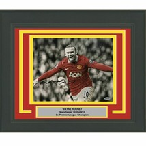 FRAMED Autographed/Signed WAYNE ROONEY Manchester United 11x14 Photo BAS... - $174.99
