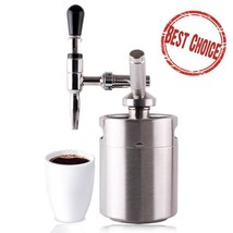 Coffee Maker Nitro Cold Brew 3.6L Mini Stainless Steel Keg Home Coffee D... - €154,75 EUR