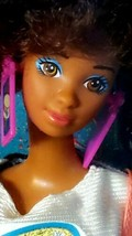 "1988 COOL TIMES Barbie TERESA - Mattel #3218 - Juicy ""burger"" & jumprope... - $49.99"