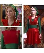 Jovi the Elf Costume Red and Green, Jovie Elf Costume, Jovie Christmas O... - $95.00