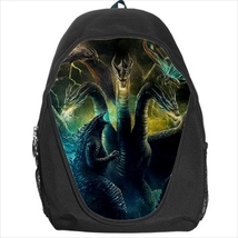 backpack school bag godzilla ghidorah mothra - $39.79