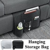 Sofa Bedside Storage Caddy Hanging Felt Organizer Pocket Book Holder Ho... - $30.60