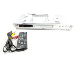 Jvc DVD/Super VCD/CD Player Model XV-N33SL With Remote And Av Cable (Bkshlf) - $49.99